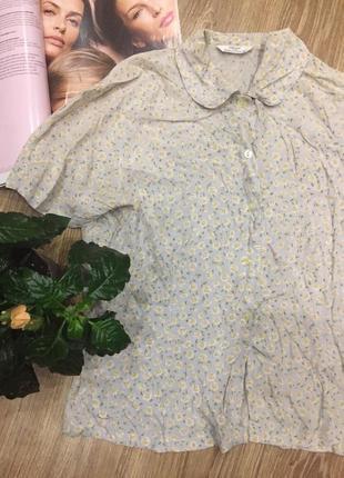 Рубашка в цветочный принт полная распродажа-50% 🔥