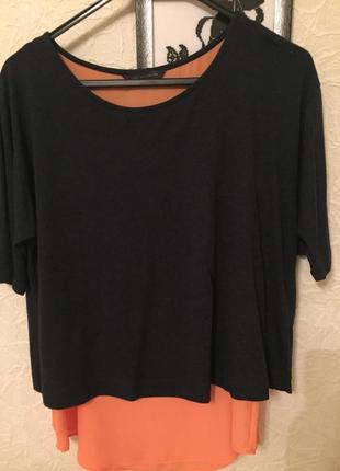 Двухслойная блуза marks&spencer