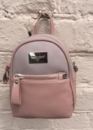 Рюкзак –сумка mini «petit rose» 3 цвета