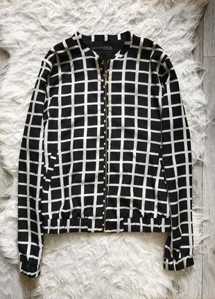 Шифоновый легкий летний бомбер куртка кофта