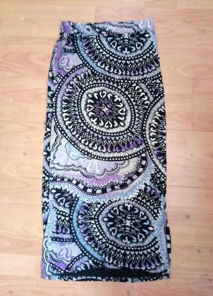 Крутая длинная юбка oodji