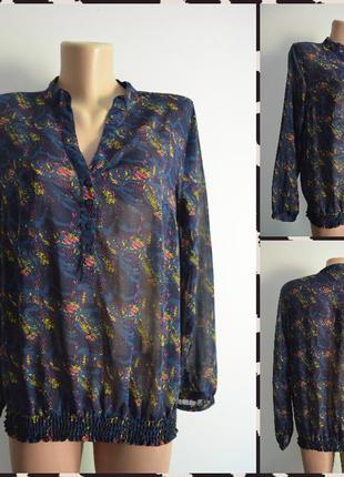 Benotti ® стильная блуза размер м (199)