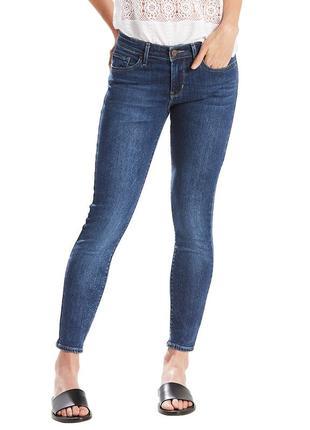 Темно синие джинсы levis ливайс левис