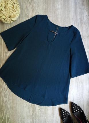 Блузка цвета морской волны f&f размер 12