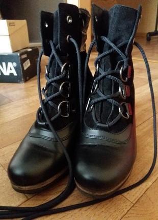 Ботинки зимние gore-tex hogl 41