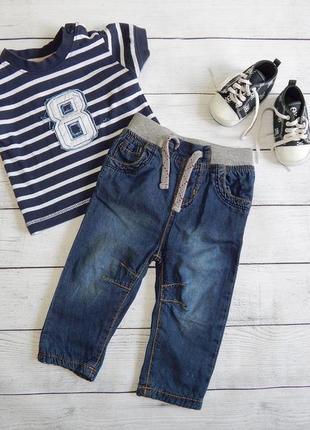 Костюм на мальчика 3-6 месяцев/джинсы early days и футболка m&co.