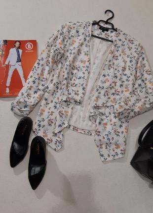 Стильный пиджачок кардиган. размер xl
