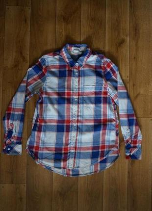 Рубашка h&m 100% котон