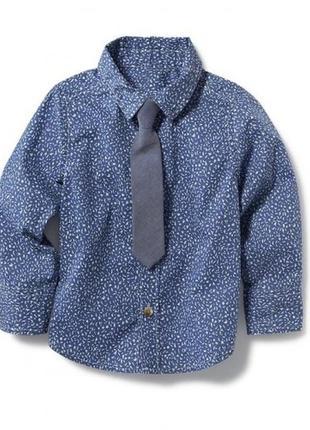 Новая рубашка oldnavy, р.2т.