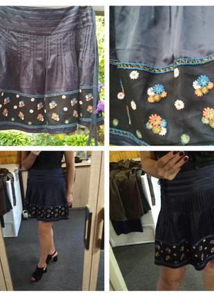 Красивая юбка с вышивкой, monsoon, p. 12