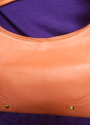Стильная яркая летняя сумка натуральная кожа tommy & kate