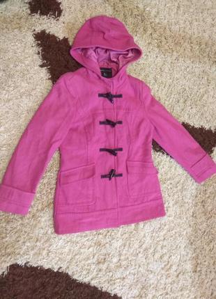 Кашемировое пальто для девочки 40-42р.