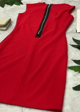 Ярко красное платье с открытым декольте    dr1826199  evita3 фото