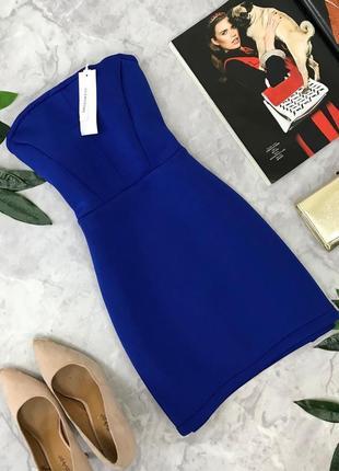 Открытое мини платье из неопреновой ткани  dr1826047  glamorous