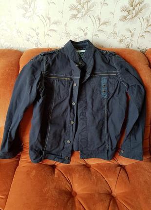 Джинсовая куртка пиджак sela