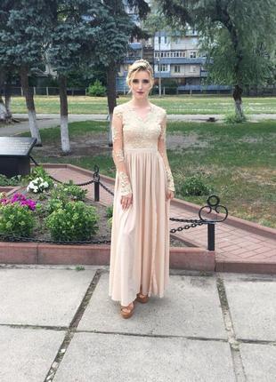 Шикарное вечернее и выпускное  платье