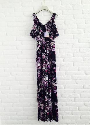 Распродажа красивый летний легкий цветочный комбинезон с брюками missguided