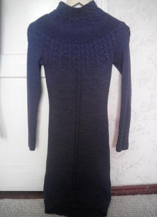 Вязане плаття вязаное платье тёплое платье тепле плаття возможен обмен обмін