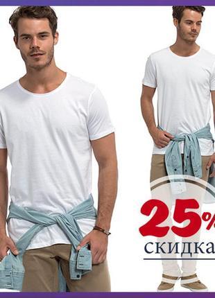 Белая мужская футболка lc waikiki / лс вайкики футболка