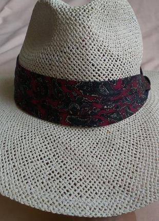 Соломенная шляпа  (англия) размер м