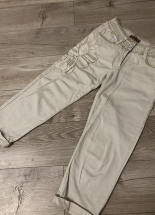 Стильные котоновые штаны / джинсы