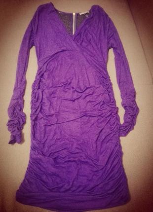 Нарядное платье спинка в пайетках р.л