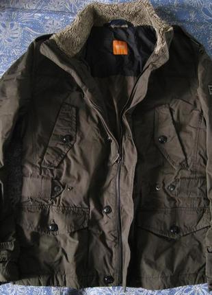 b255e53f Мужские куртки Hugo Boss (Хуго Босс) 2019 - купить недорого вещи в ...