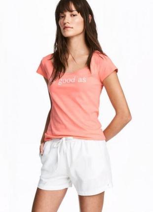 Женская футболка h&m.