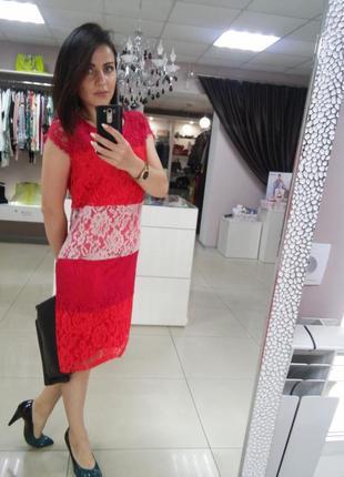Платье гипюровое италия коллекция 2018