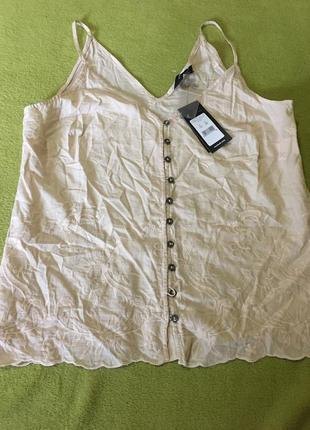 Легкая котоновая блуза new look