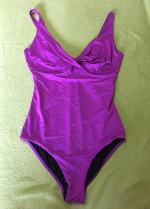 Красивый сдельный фиолетовый купальник beachwave размер  много размеров!