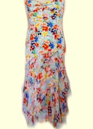 Элегантное платье karen millen100% шелк