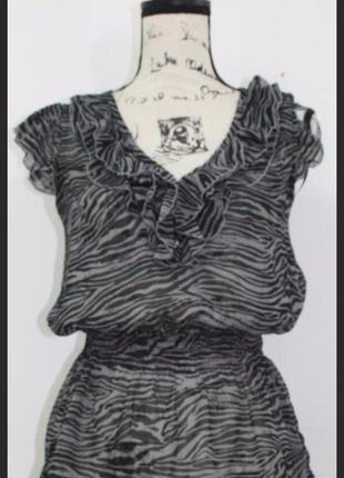Зебровыйпринт , шифоновая блузка, майли сайрус (miley cyrus), бохо