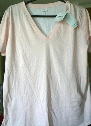 Ніжна бавовняна футболка від с&а