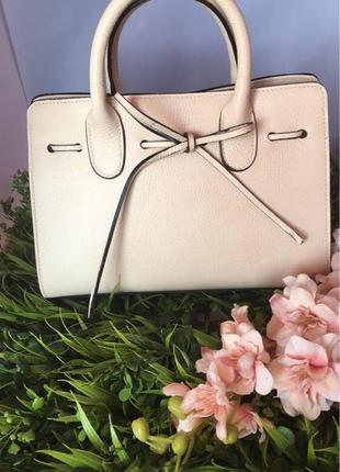 Кожаная  сумка (италия, натуральная кожа)