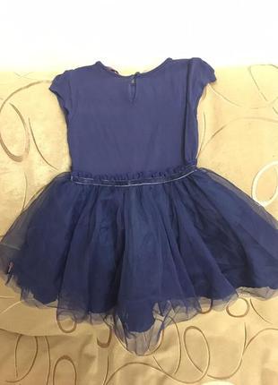 Синее платье в камнях ted baker на 2 года3