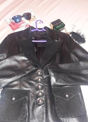 Куртка пиджак жакет натуральная кожа