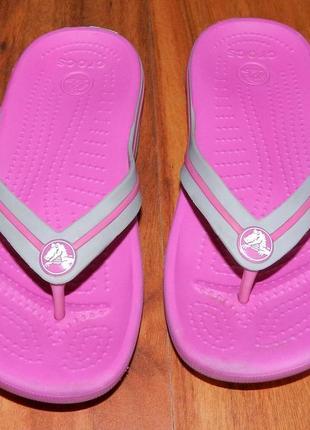 Crocs ! оригинальные босоножки-вьетнамки для пляжа или басейна1 фото