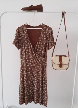 Gubus фирменное женственное платье миди трикотаж..#00333