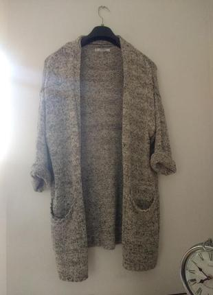 Кардиган серый/кофта/пиджак