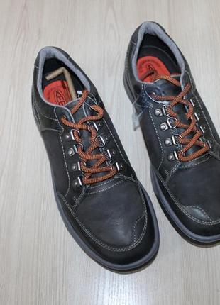 Кожаные полуботинки keen glenhaven explorer leather , 42 размер