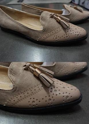 Туфли очень красиво смотрятся на ноге  - - все фото реал - есть размеры 36-41