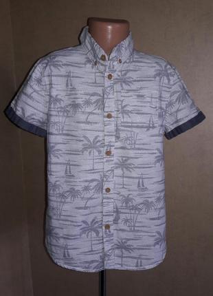 Оригинальная рубашка на 8-9 лет  в идеальном состоянии