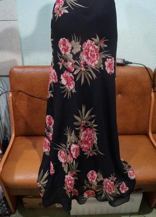 Летняя юбка макси р.10,бренд wallis