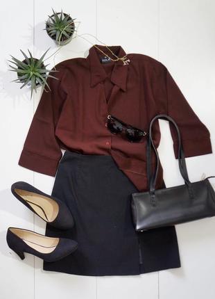 Блуза с укороченными рукавами