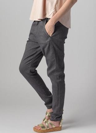 Летние брюки transit par such льняные штаны италия