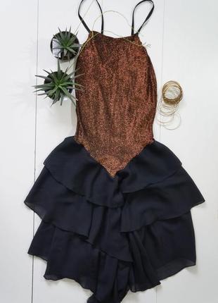 Бальное платье шитое на заказ блестящее