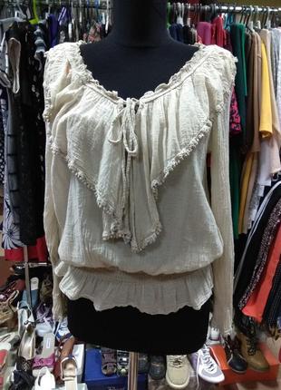 Лёгкая блуза блузка италия и