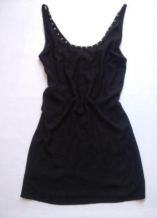 Маленькое чёрное платье zara размер m-l