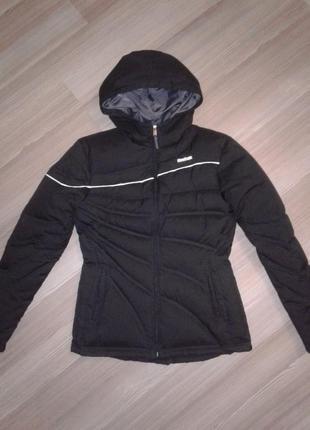 Куртка пуховик reebok оригинал, с натуральным пухом, размер m, l